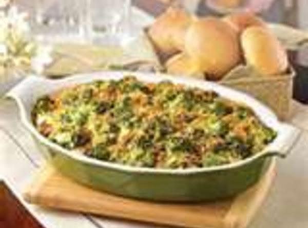 Broccoli Mushroom Casserole Recipe