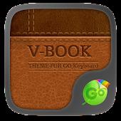 V-Book GO Keyboard Theme
