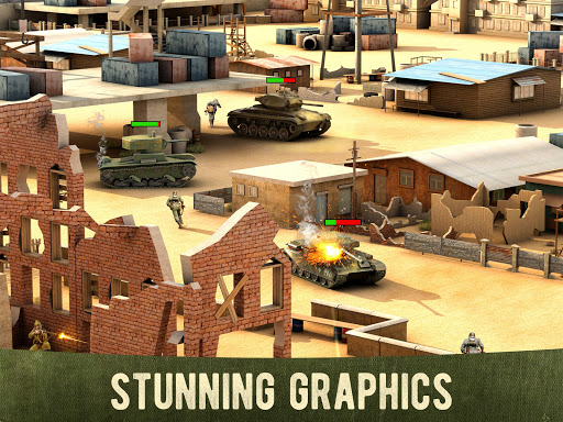 War Machines: Free Multiplayer Tank Shooting Games  screenshots 4