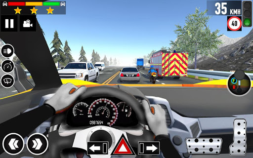Car Driving School 2020: Real Driving Academy Test modavailable screenshots 8
