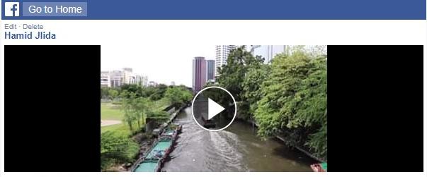 Кликните за репродукцију Фацебоок видеа