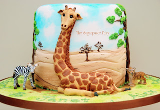 Photo: Out of Africa by The Sugarpaste Fairy(5/6/2012) View cake details here: http://cakesdecor.com/cakes/14602