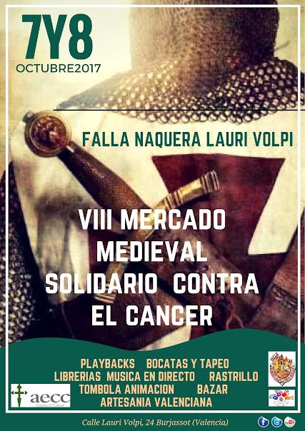 VIII Mercado Medieval Solidario. Naquera - Lauri Volpi