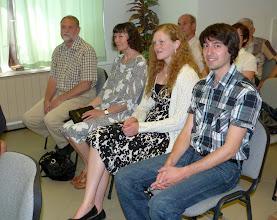Photo: A Gyülekezet különleges vendégei a Karlskronai Pünkösdi Gyülekezetből érkeztek.