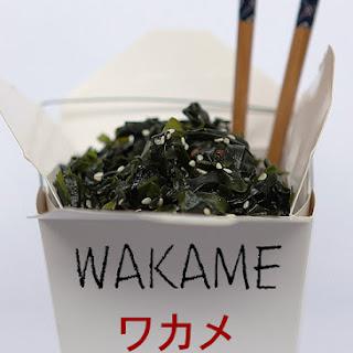 Utagawa Kuniyoshi – Wakame Seaweed Salad