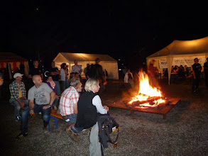 Photo: Lagerfeuer am Samstag