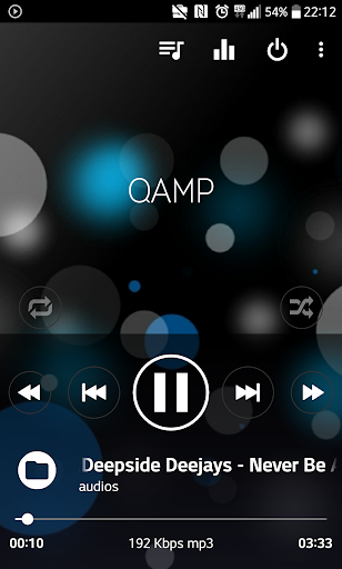 Mp3 player - Qamp screenshot 3