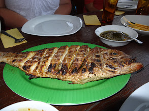 Photo: Another island fish but this one is charbroiled. Also very delicious indeed.