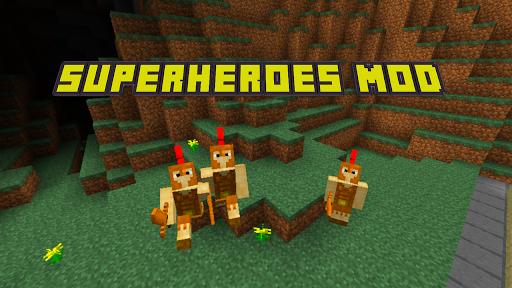 MCPE PE를위한 슈퍼 영웅 MOD|玩休閒App免費|玩APPs