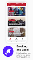 screenshot of Opera News: Breaking Local & US Headlines