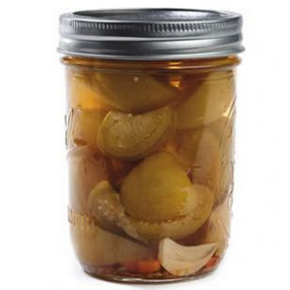 Mexican Pickled Tomatillos