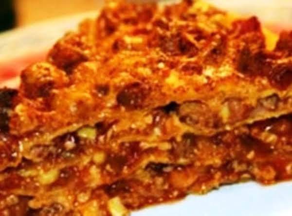 Easy Burrito Lasagna