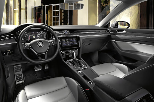 The dash is basically unchanged from the Passat.    Picture: VOLKSWAGEN
