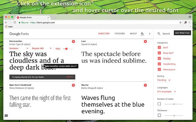 What Font - find font