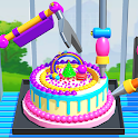 Perfect Cake Factory! Robotic Cake Making Machines icon