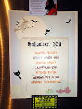 Photo: Halloween 2011 Menu