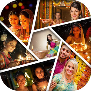 Diwali Photo Collage Maker