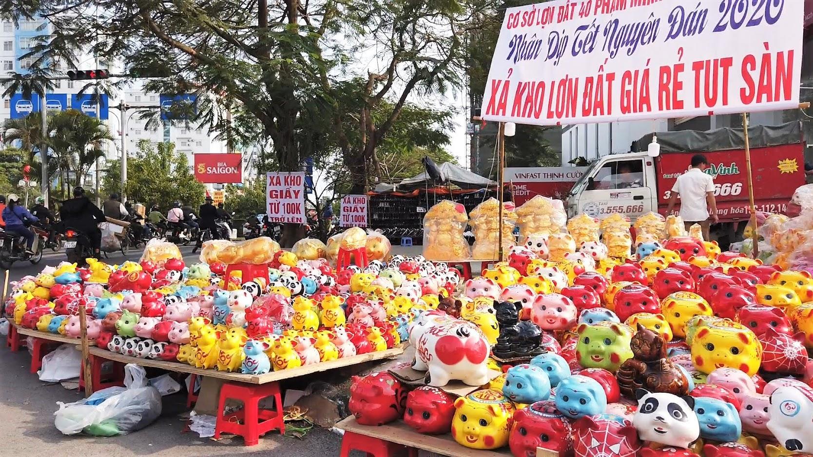 Chợ hoa Tết 2020 đường Lê Hồng Phong ở Hải Phòng 6