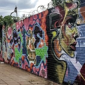 Art  by Claudio de Freitas Photography - Instagram & Mobile Android ( brixton, mobilography, lambeth, london street, colors, 2015, mobile photos, claudiodefreitasphotography, street scene, samsung, photography, street photography, photoshop,  )