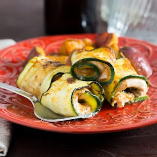 Zucchini Chicken Pinwheels