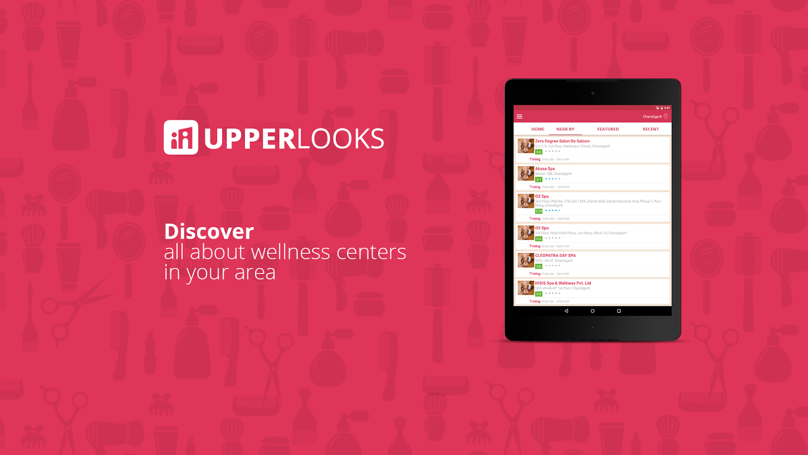 UpperLooks- screenshot