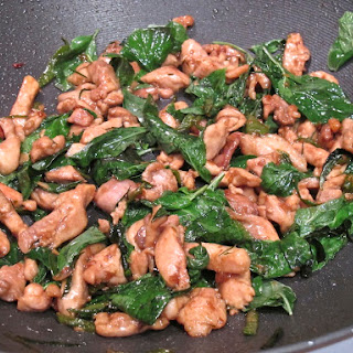 Chicken with Mint and Thai Basil