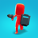 Gun Run 3D: Crazy Hero FPS Action icon