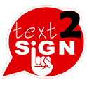 Text2sign icon