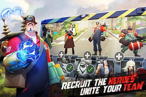 Hero Z:Survival Evolved screenshot 3