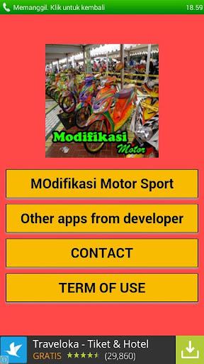 Modifikasi Motor Sport