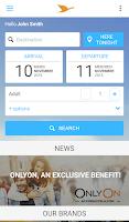 Screenshot of AccorHotels hotel booking