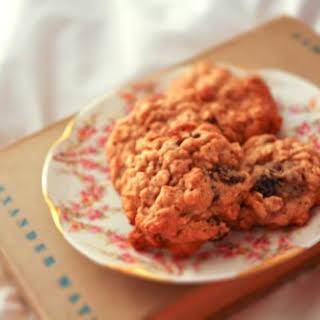 Oatmeal Raisin Cookies.