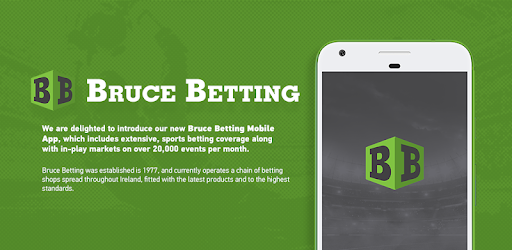 Bruce betting events sports horse racing betting systems pdf to word