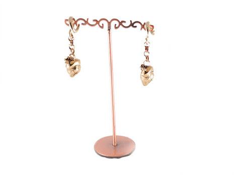 """Brass Anatomical Hearts"""