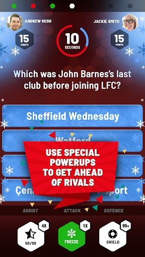 Liverpool FC Quiz Rivals: The Official LFC Game 1.6 screenshots 2