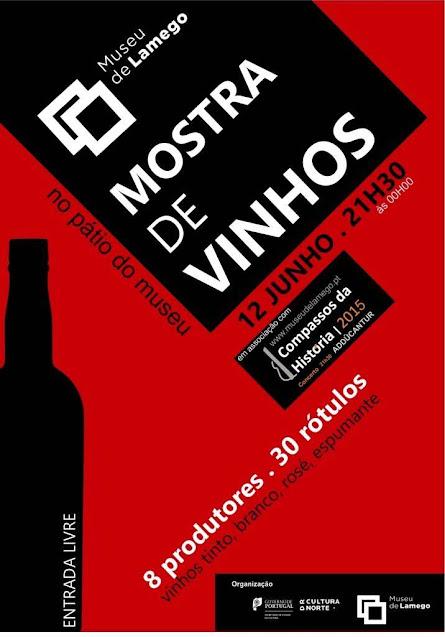 """""""Mostra de Vinhos"""" no Museu de Lamego divulga excelência"""