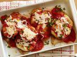 Lightened Chicken And Eggplant Parmesan Recipe