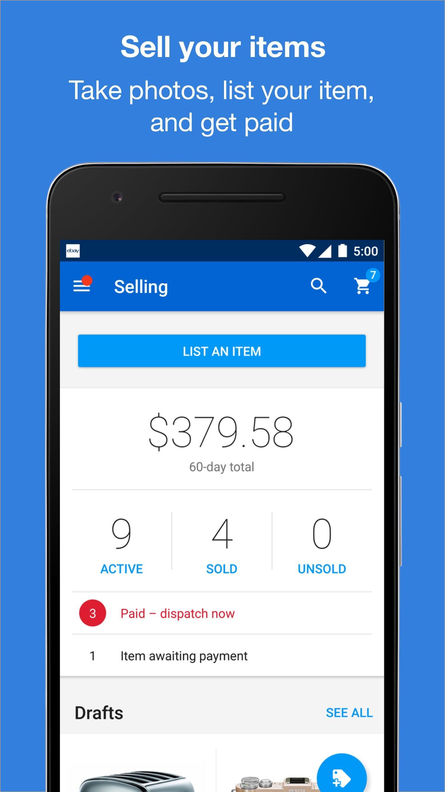 eBay - Buy, Sell, Bid & Save screenshot #5