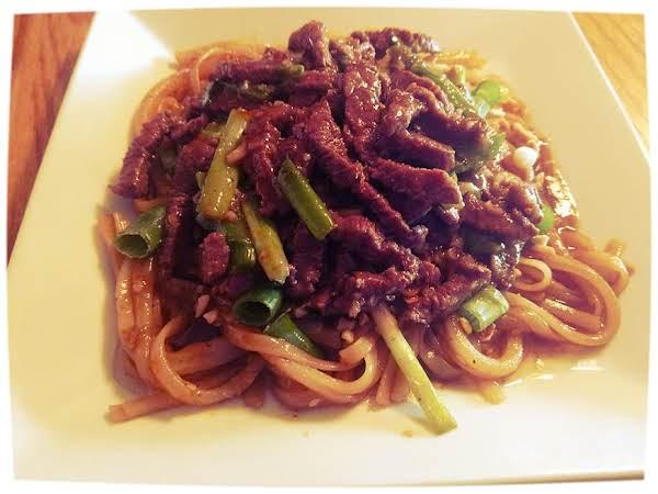 Szechuan Beef With Szechuan Noodles