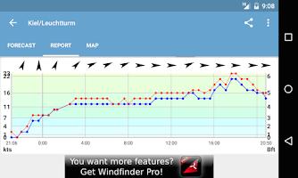 Screenshot of Windfinder