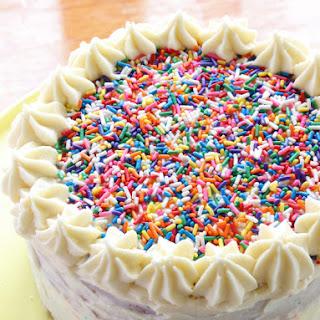 Vanilla  Celebration Cake (gluten free).