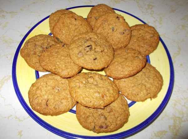 Honey Oatmeal Craisin Cookies Recipe