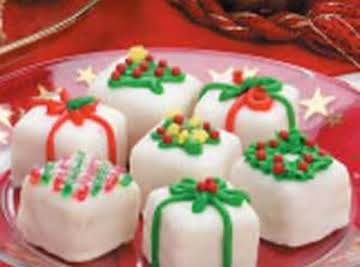 Petits Fours Christmas Presents