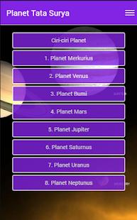 Planet tata surya - náhled