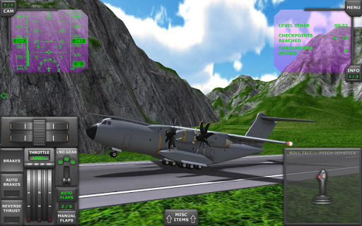 Turboprop Flight Simulator 3D  screenshots 17
