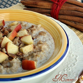 Overnight Crock Pot Steel Cut Oats {Oatmeal}