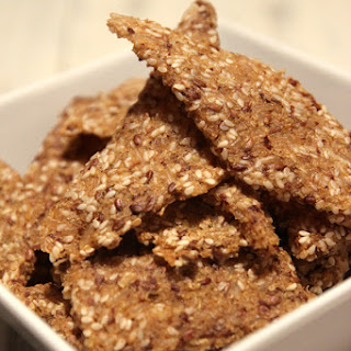 Quinoa Brown Rice & Sesame Crackers