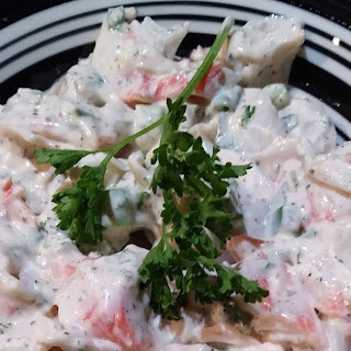 Crab Salad for Two.