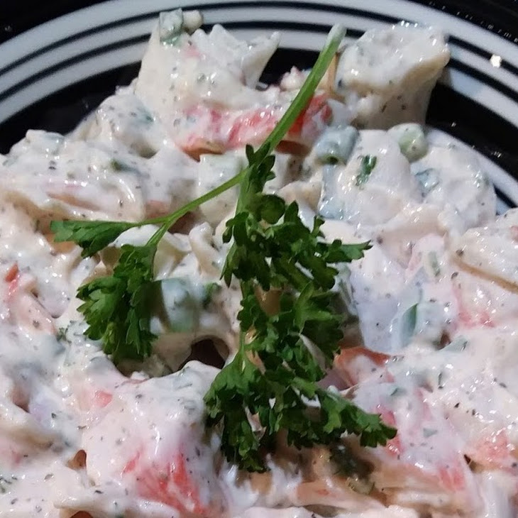 Crab Salad for Two