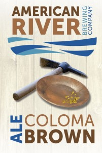 Logo of American River Coloma Brown